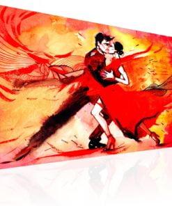 Schilderij - Sensual Dance-1