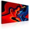 Schilderij - Cosmic Kiss-1
