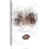 Schilderij - Beauty in Her Eyes-1