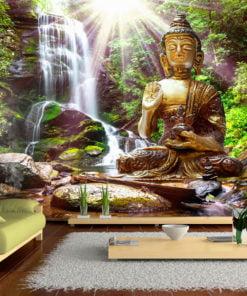 Fotobehang - Forest Prayer-1