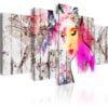Schilderij - Goddess of Spring-1