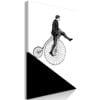 Schilderij - Cyclist (1 Part) Vertical-1