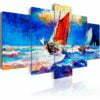 Schilderij - Catch the Wind-1