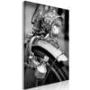 Schilderij - Bicycle Details (1 Part) Vertical-1