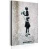 Schilderij - Bomb Hugger by Banksy-1