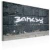 Schilderij - Banksy Signature-1