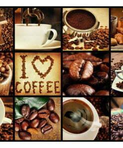 Fotobehang - Coffee - Collage-2