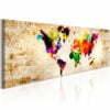 Schilderij - World in Watercolours-1