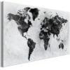 Schilderij - Colourless World (1 Part) Wide-1