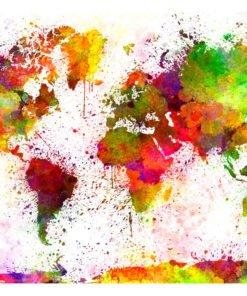 Fotobehang - Dyed World-2