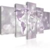 Schilderij - Amethyst World-1