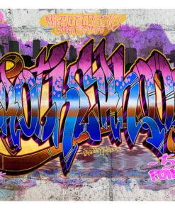 Fotobehang - Colorful Mural-2