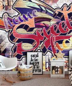 Fotobehang - Cool Graffiti-1