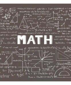 Fotobehang - Mathematical Handbook-2