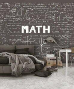 Fotobehang - Mathematical Handbook-1