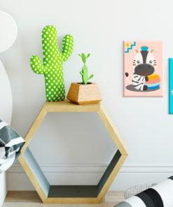 Doe-het-zelf op canvas schilderen - Zebra & Leopard-2