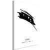 Schilderij - Zodiac Signs: Aries (1 Part) Vertical-1