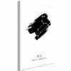 Schilderij - Zodiac Signs: Leo (1 Part) Vertical-1