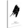 Schilderij - Zodiac Signs: Virgo (1 Part) Vertical-1