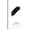 Schilderij - Zodiac Signs: Scorpio (1 Part) Vertical-1