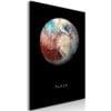 Schilderij - Pluto (1 Part) Vertical-1