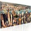 Schilderij - Panorama of New York-1